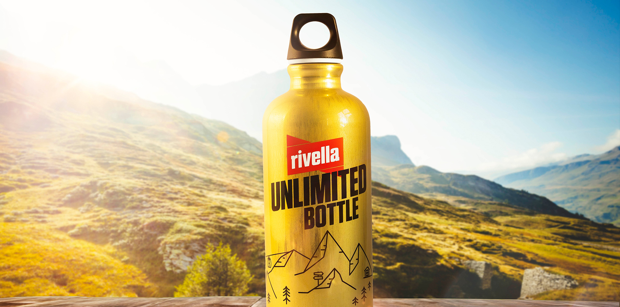«Rivella Unlimited Bottle»
