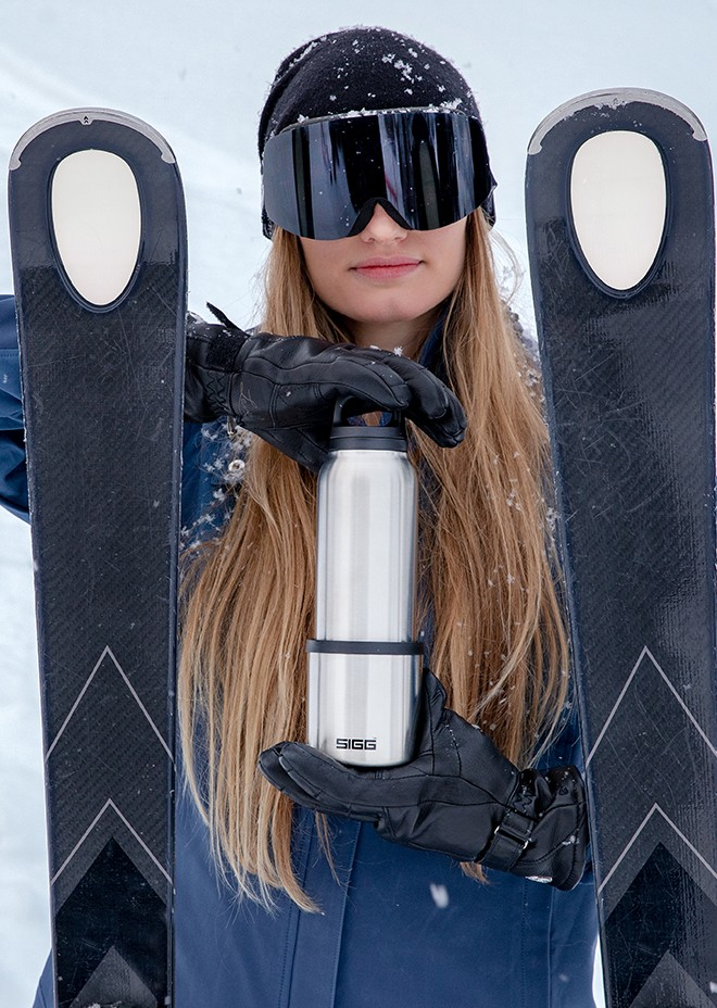 Ski Trinkflasche SIGG Hot & COld