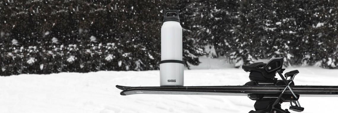 Ski Trinkflasche SIGG Hot & COld